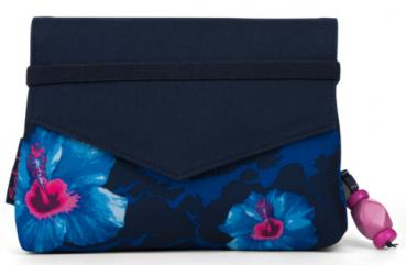 Satch Klatsch Waikiki Blue Beauty Wallet Täschchen 18cm