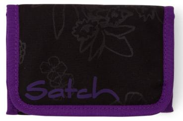 Satch Geldbörse Purple Hibiscus lila Wallet