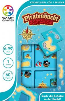 smartgames piratenbucht logikpuzzle ab 6 jahre. Black Bedroom Furniture Sets. Home Design Ideas
